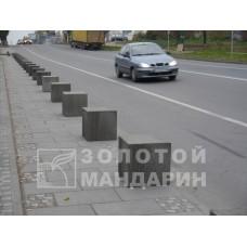 Антипарковочний стовп Куб 450х450х450 мм