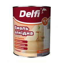 Фарба емальова  Delfi 2,8кг червоно-коричн