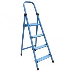 Драбина металева Works 5сход.,405,синя,висота 3,23м,вага 8,8кг