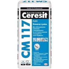 Клей для плитки СМ-117,25кг Церезіт