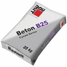 Бетонна суміш В25 Бауміт 25кг