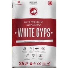 Суперфінішна шпаклівка WHITE GYPS 25кг