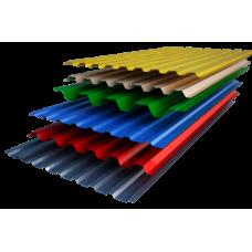 Профнастил глянцевий 1,7 м * 1,18 м * 0,4 мм
