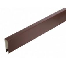 Верхня планка коричнева 8мм.