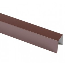 Верхня планка 15мм коричнева