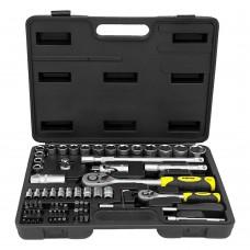 Професійний набір інструментів 72 шт (1/2  і 1/4) (70024)