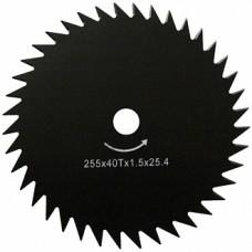Ніж для мотокоси 255 * 25,4 * 1,6 мм 40T
