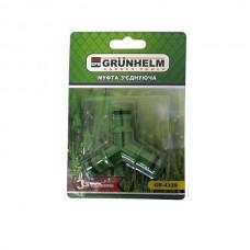 З'єднання для шланга (потрійне) Grunhelm GR-4329