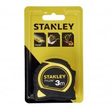 """Рулетка Stanley """"Tylon"""" 3м*25мм ергономічний корпус пластик+еластомер"""