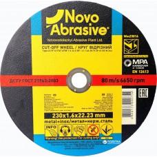 Круг відрізний 230*2*22.2  NovoAbrasive